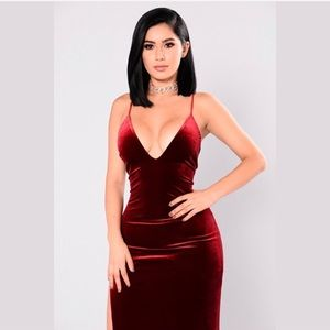 5fd9c43d078 Fashion Nova Dresses - Galant Velvet Dress